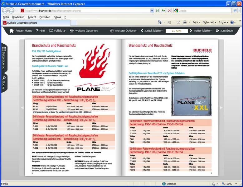 Elektronische Kataloge für Buchele