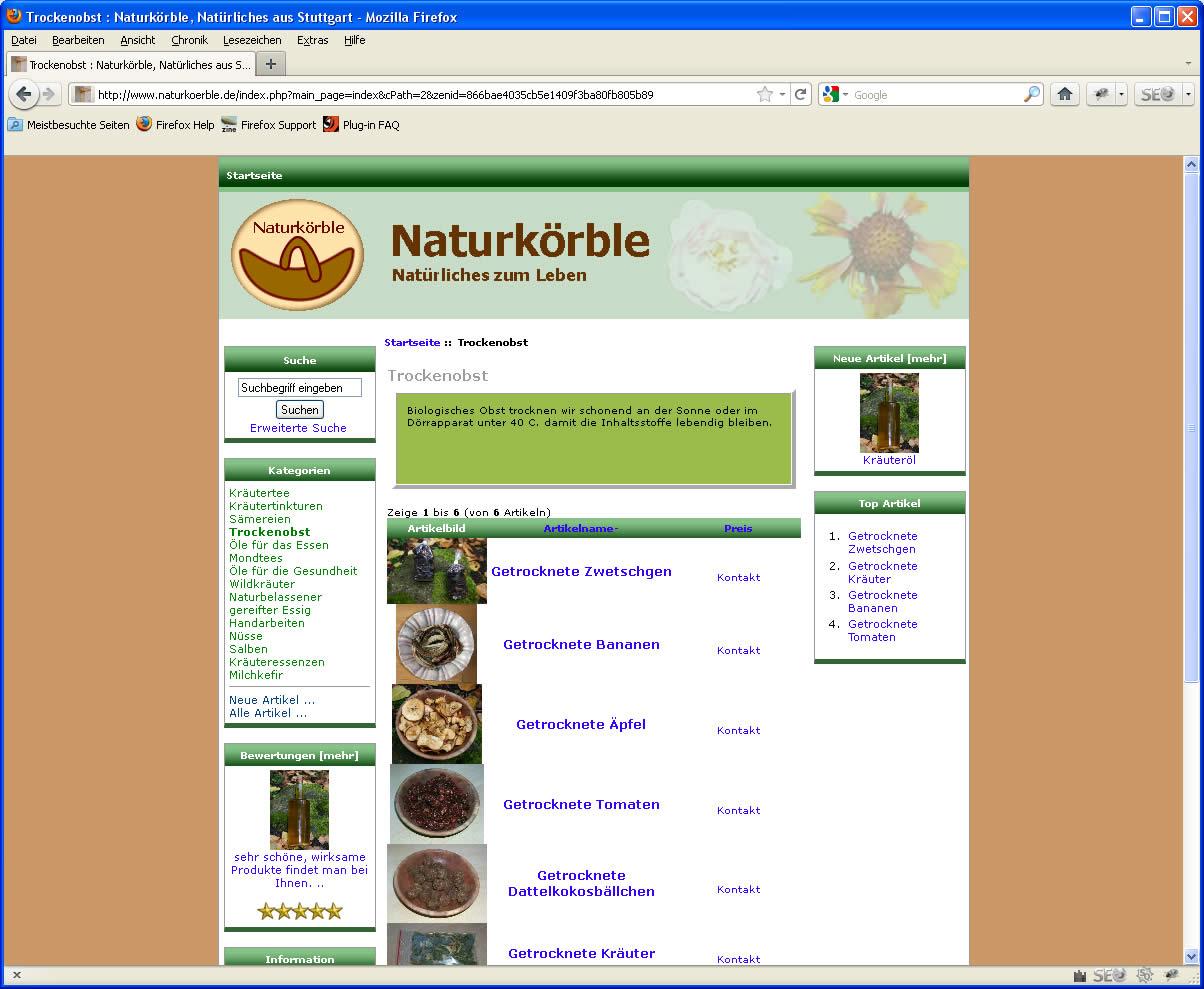 Naturkoerble