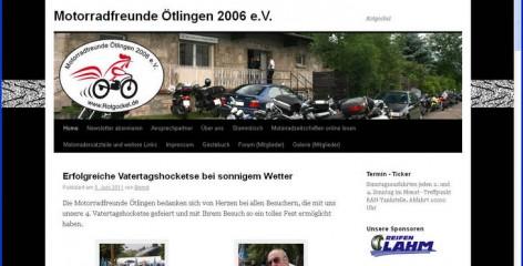Motorradfreunde Ötlingen Website