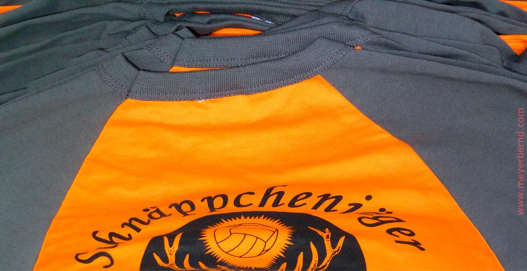 Spielertrikots für Volleyballmannschaft des CVJM Neuhausen