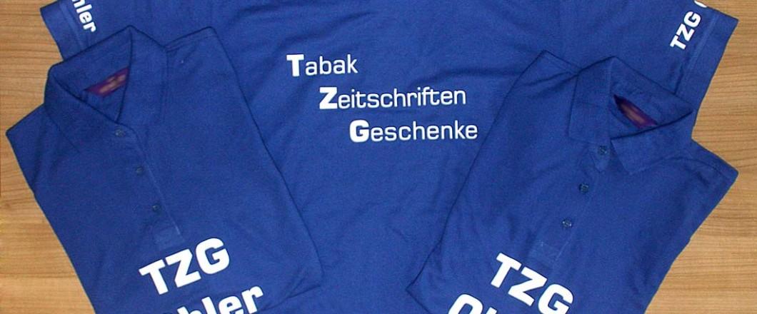 Bedruckte Poloshirts für TZG Ohler