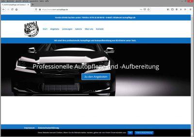 V und M Autopflege und Autoaufbereitung - Kirchheim unter Teck - Neue Website